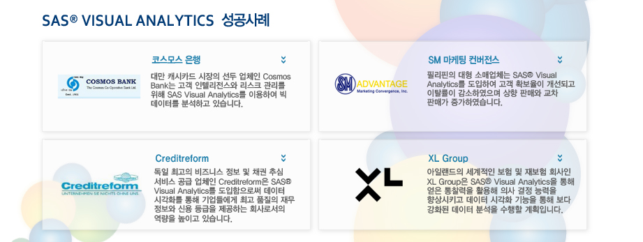 SAS® VISUAL ANALYTICS성공사례